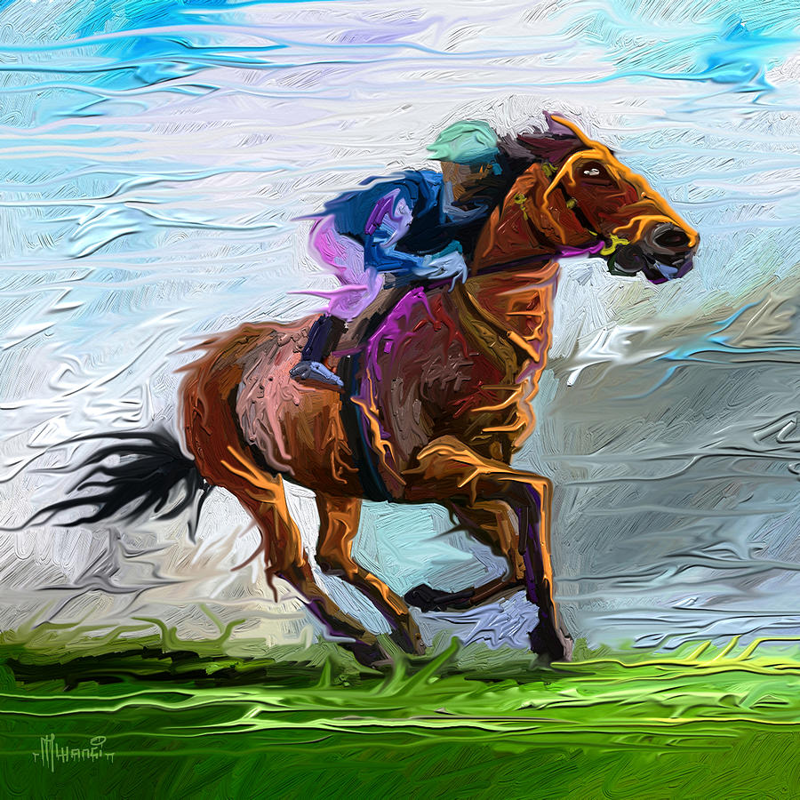 Horse Power Painting