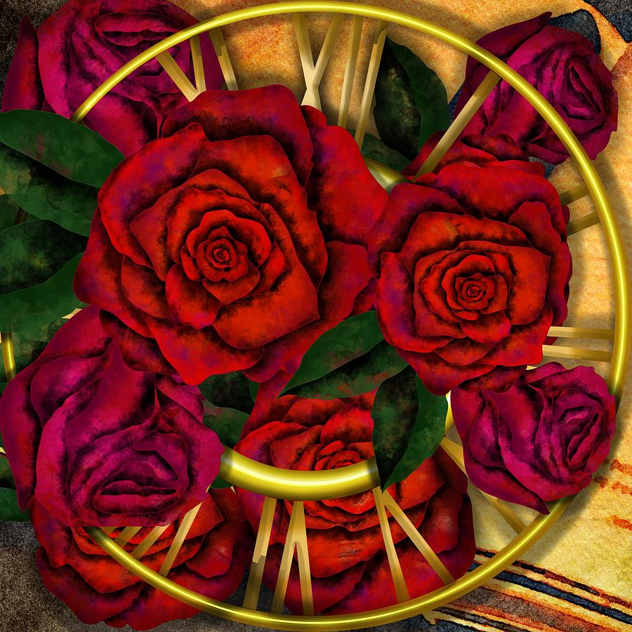 The worlds pass - time for roses - nostalgia by Patricia Piotrak