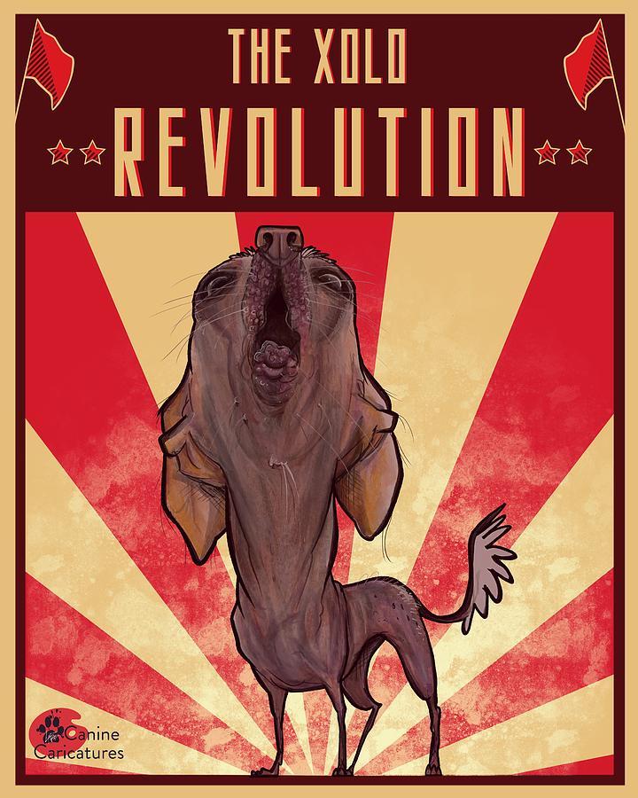 The Xolo Revolution Drawing