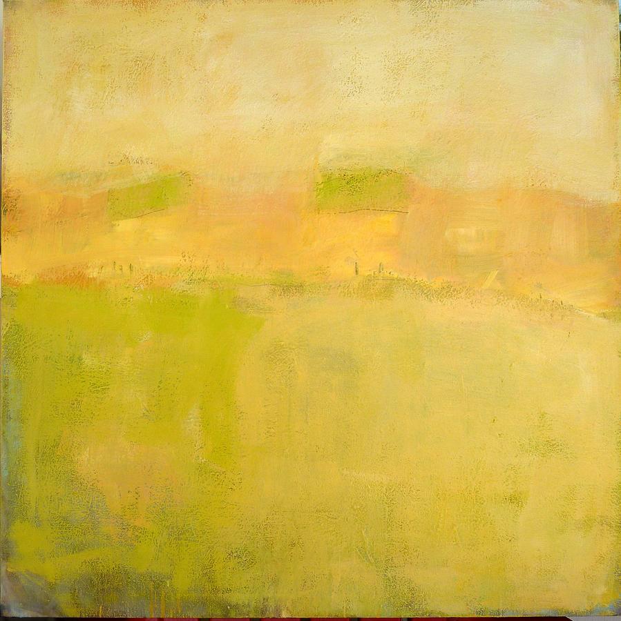 The Yellow Fog Painting by Daniel Hoglund