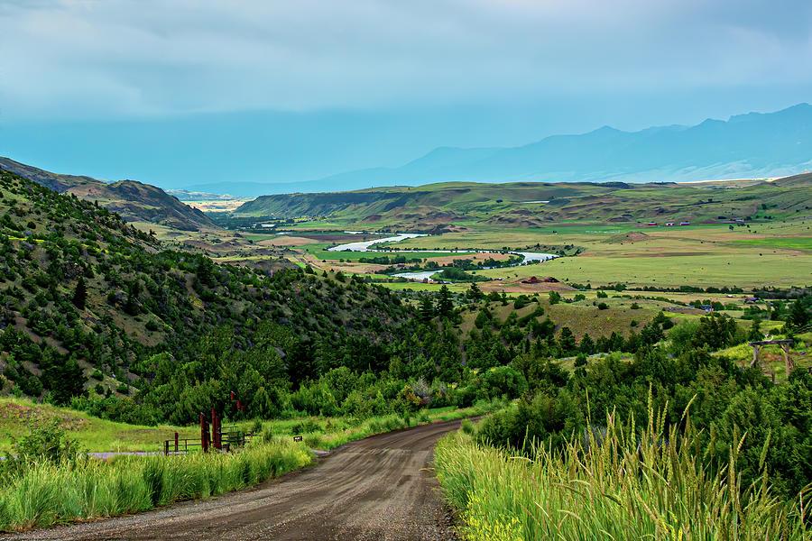 The Yellowstone River Valley  by Douglas Wielfaert