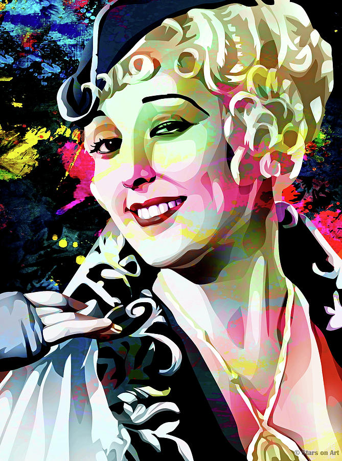 Thelma Todd by Stars on Art