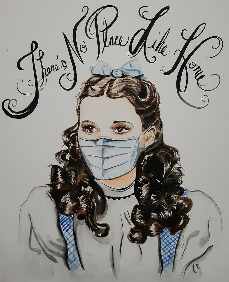 Wizard Of Oz Painting - Theres No Place Like Home  by Amanda Beaulieu