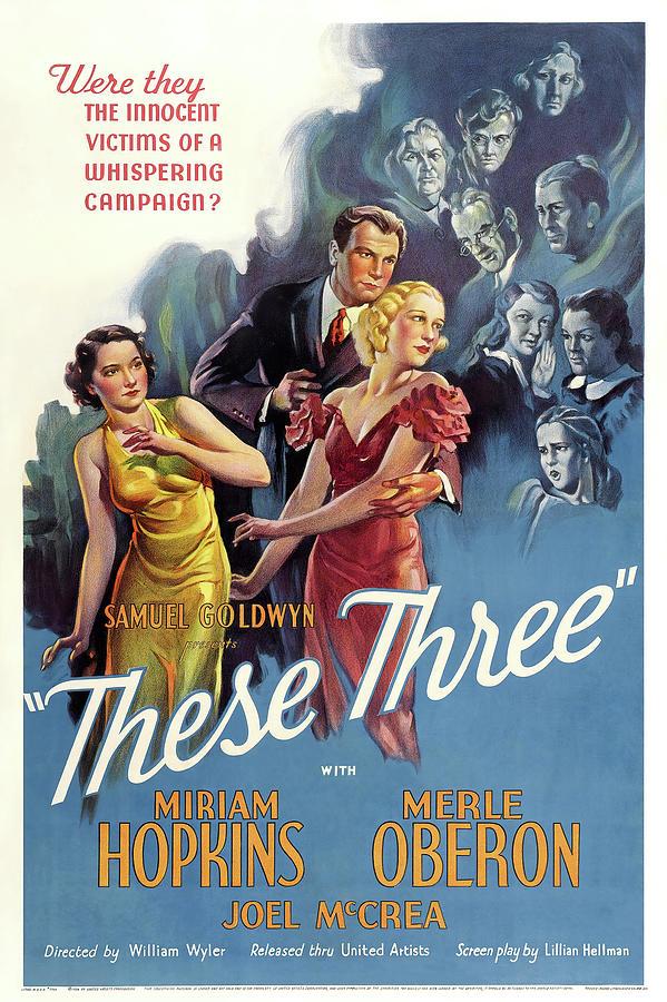 these Three, 1936 Mixed Media