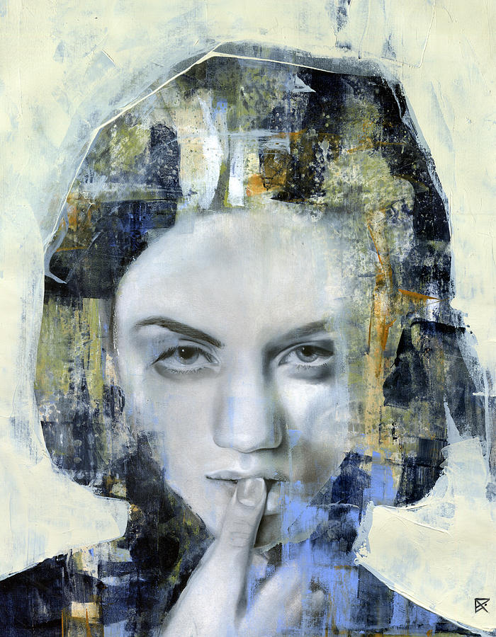 Portrait Painting - Things Left Unsaid by Patricia Ariel