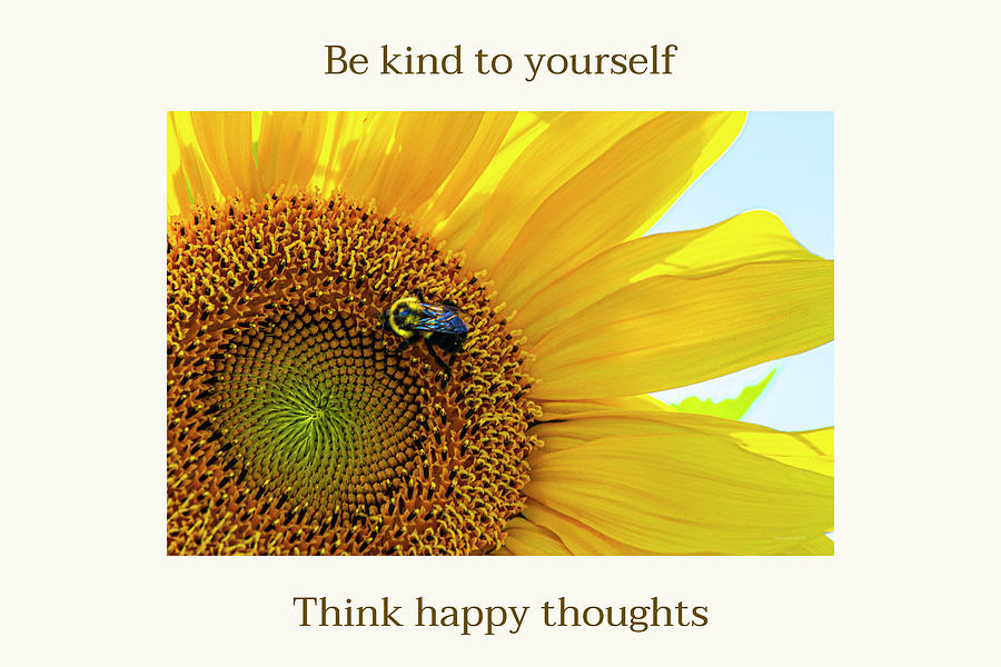 Think Happy Thoughts by Diane Lindon Coy
