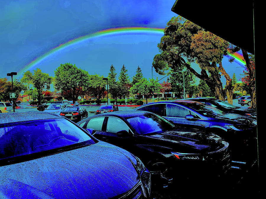 This Mornings Rainbow Photograph by Scott L Holtslander