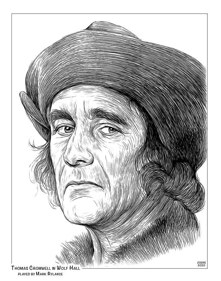 Thomas Cromwell Drawing