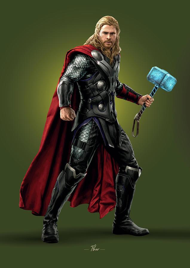 Thor - Marvel Photograph