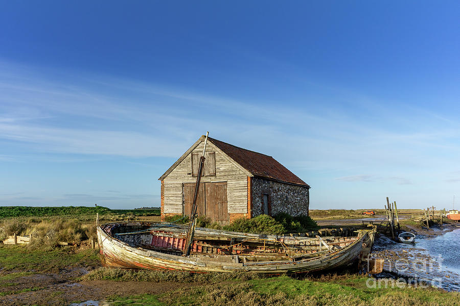 Thornham Staithe, Norfolk, England Photograph