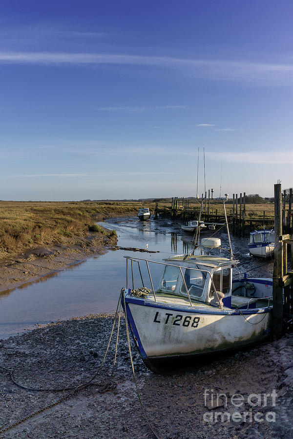 Thornham Staithe Norfolk Uk Photograph
