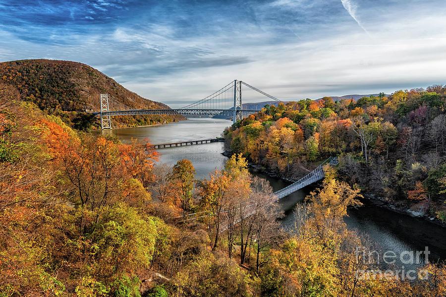 Three Bridges by Debra Fedchin