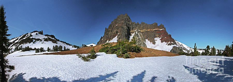 Three Fingered Jack Photograph - Three Fingered Jack by Gary Wing