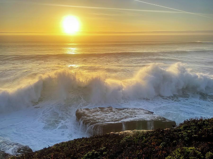 Thrill Of Crashing Waves Photograph