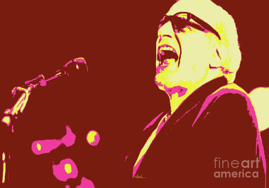 Donald Fagen Painting - Thumbs Up Steely Dan by Jack Bunds