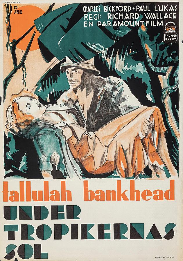 thunder Below 1932 Mixed Media