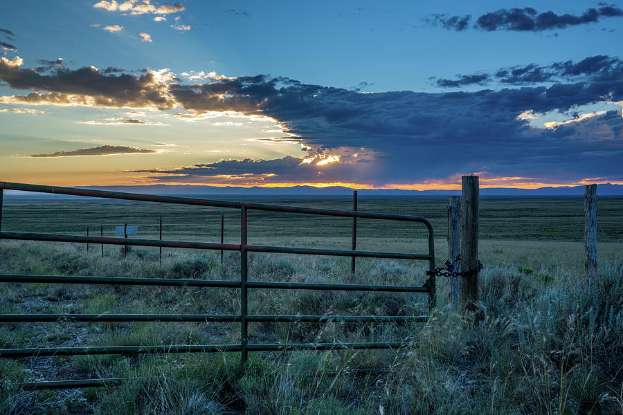 Thunderstorm at Sunset in Colorado by Kyle Lee