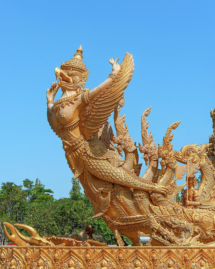 Thung Si Muang Park Giant Candle Kinara DTHU0468 by Gerry Gantt