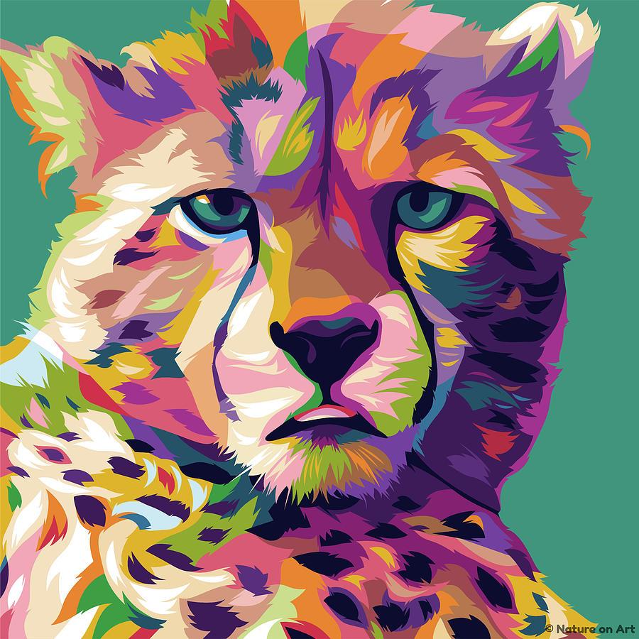 Tiger Cub Digital Art