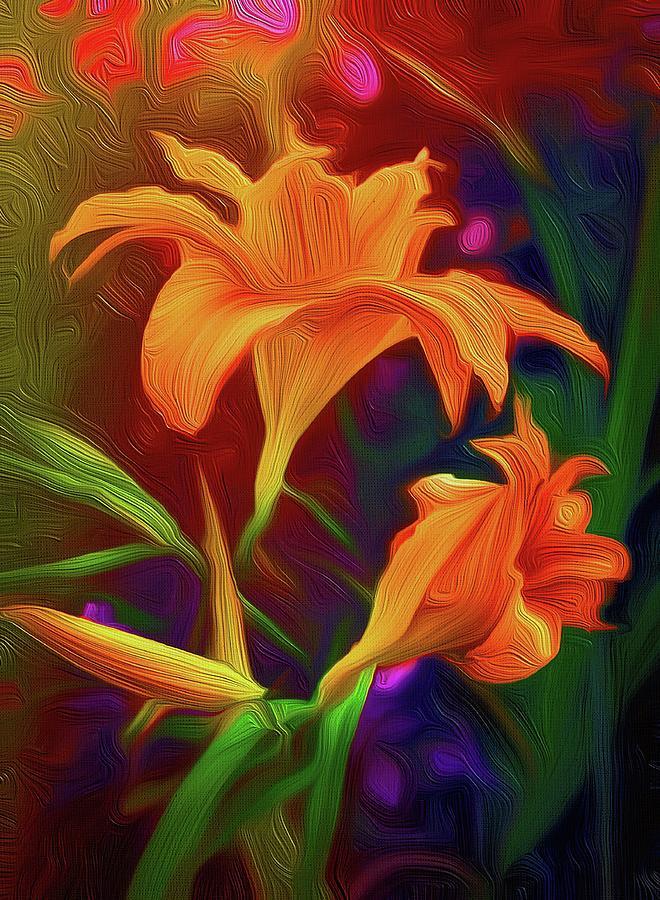 Tiger Lilies Photograph