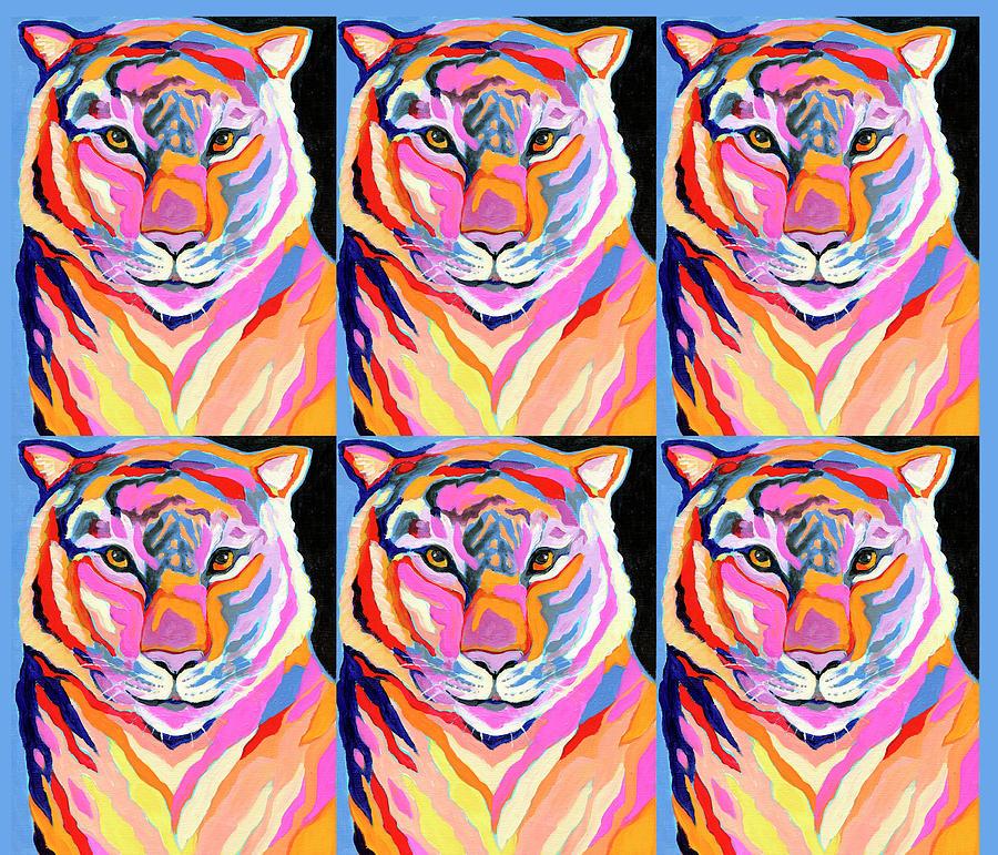Tiger Pop Art I Digital Art