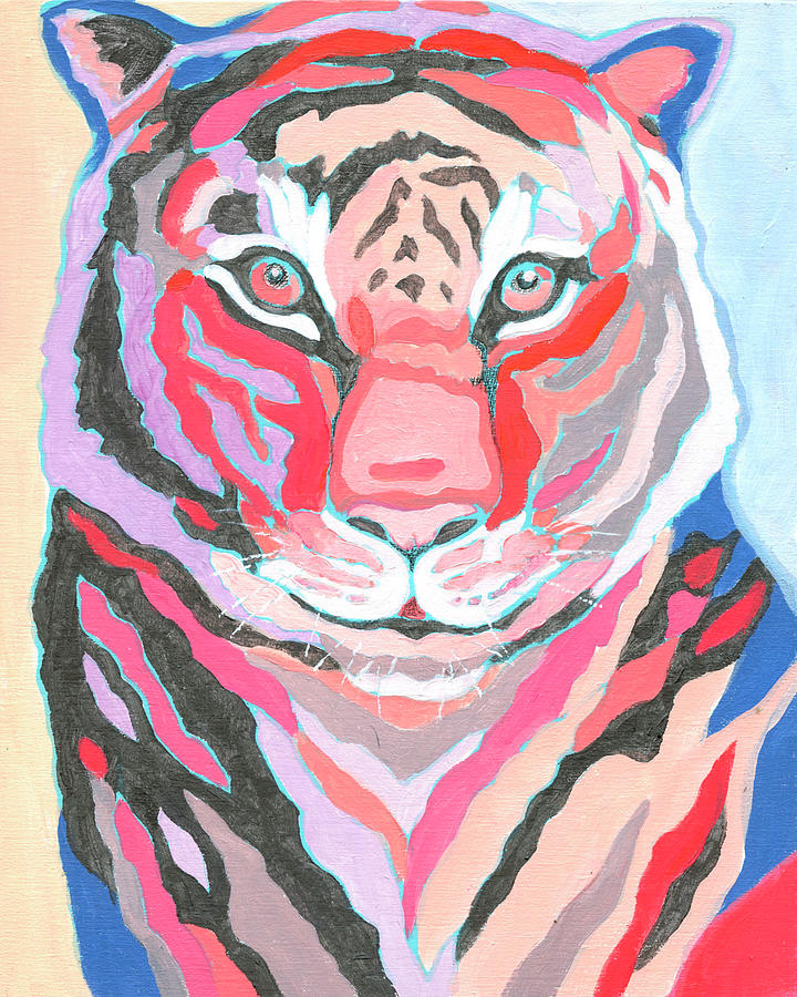Tiger Iv Painting