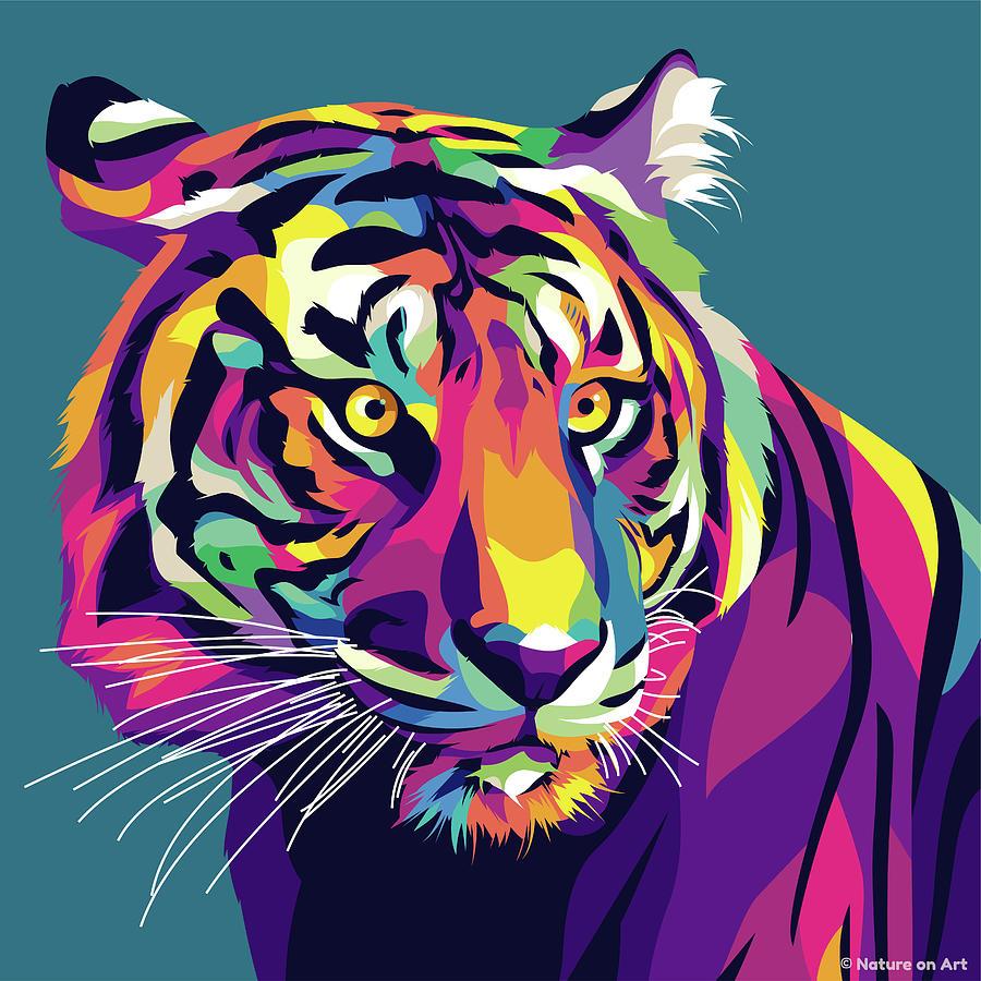 Tiger Digital Art