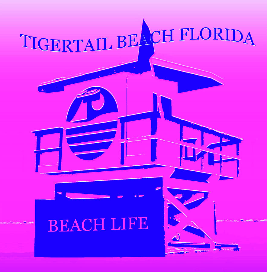 Tigertail Beach Florida Mixed Media