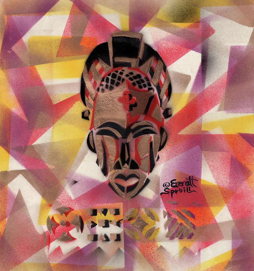 Tikar Mask from Cameroon by Everett Spruill