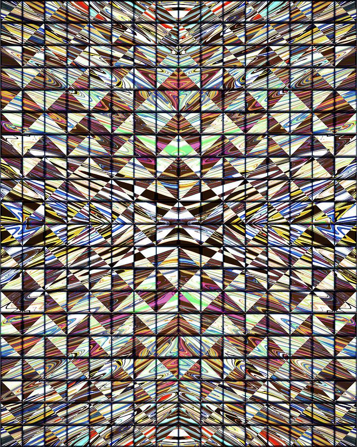 Tiles of GVI Hangars Psych Exam Room Digital Art by Jack Entropy