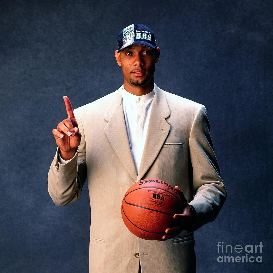 Tim Duncan Photograph by Andy Hayt