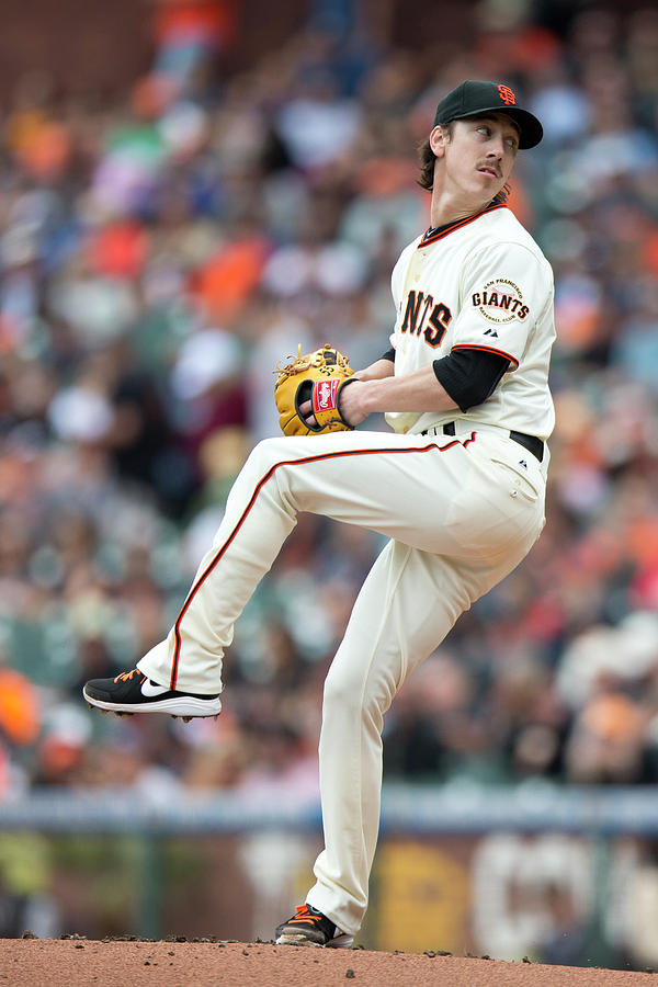 Tim Lincecum Photograph by Jason O. Watson