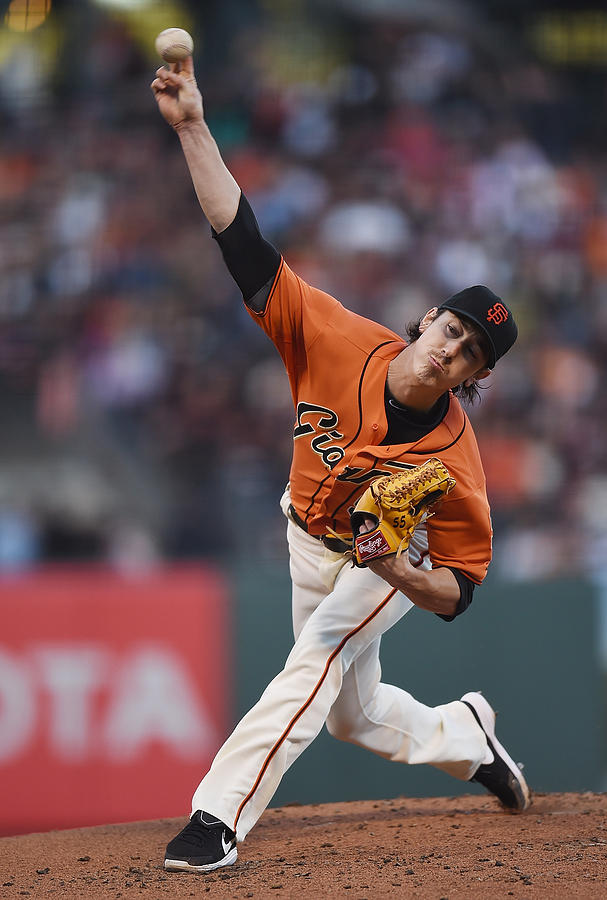 Tim Lincecum Photograph by Thearon W. Henderson