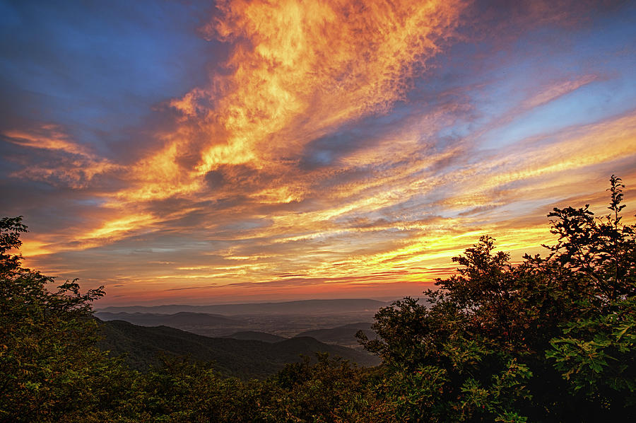 Timber Overlook Sunset 1 Photograph