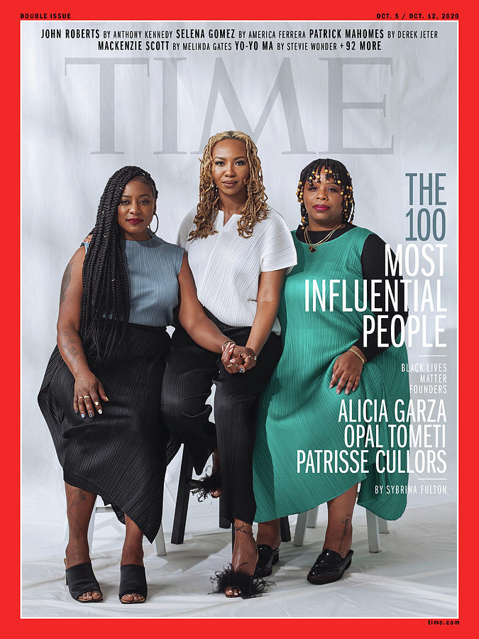 Justice Photograph - TIME 100 - BLM Women by Photograph by Kayla Reefer for TIME