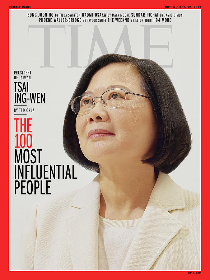 President Photograph - TIME 100 - Tsai Ing-Wen by Photograph by Nhu Xuan Hua for TIME
