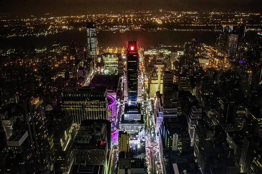 Times Square Illuminated Photograph