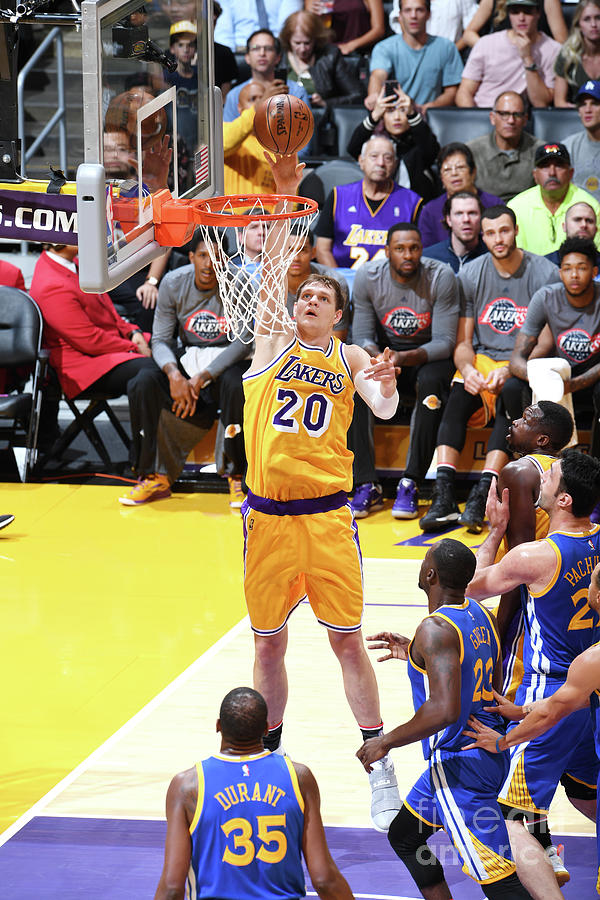 Timofey Mozgov Photograph by Aaron Poole