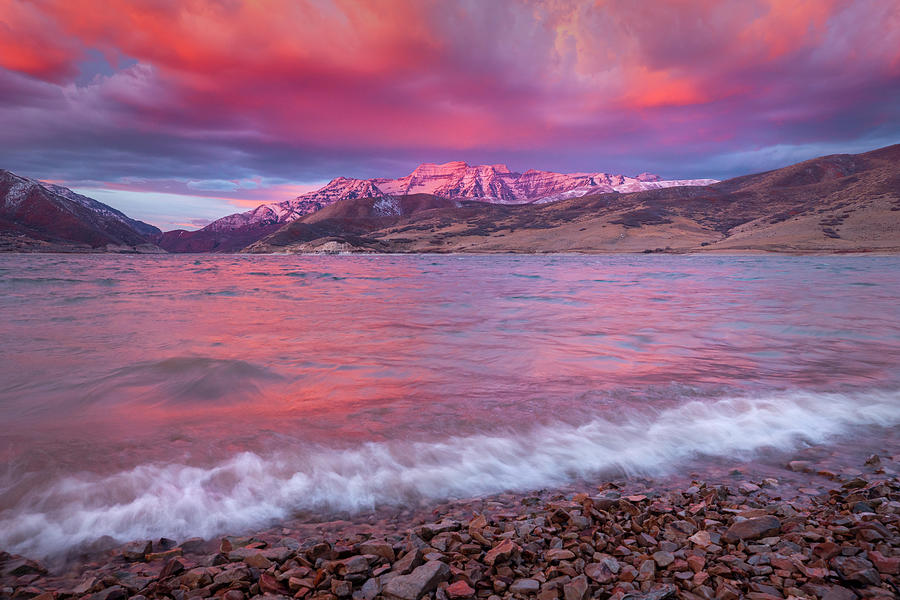 Timp Windy Wave Sunrise Photograph