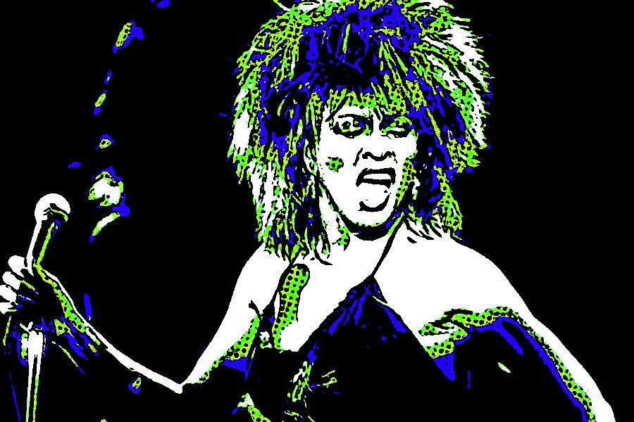 Tina Turner her mouth by Jayime Jean