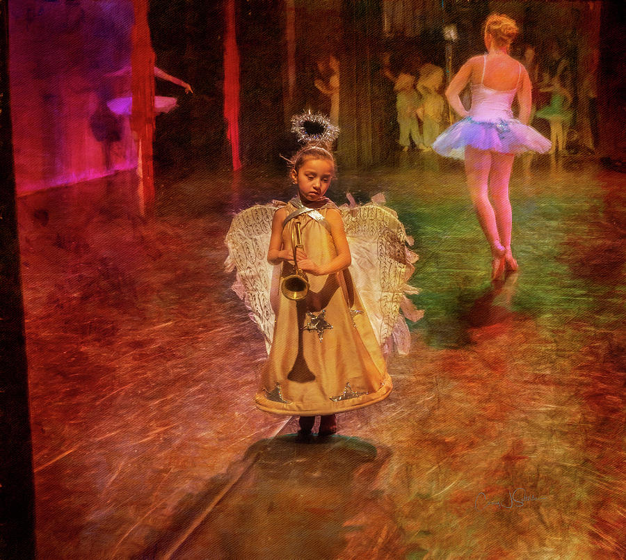 Tiny Angel Ballerina by Craig J Satterlee