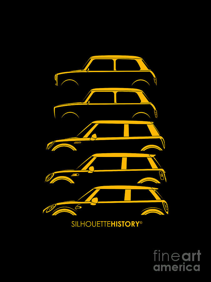 Tiny Brit Yellow SilhouetteHistory by Gabor Vida