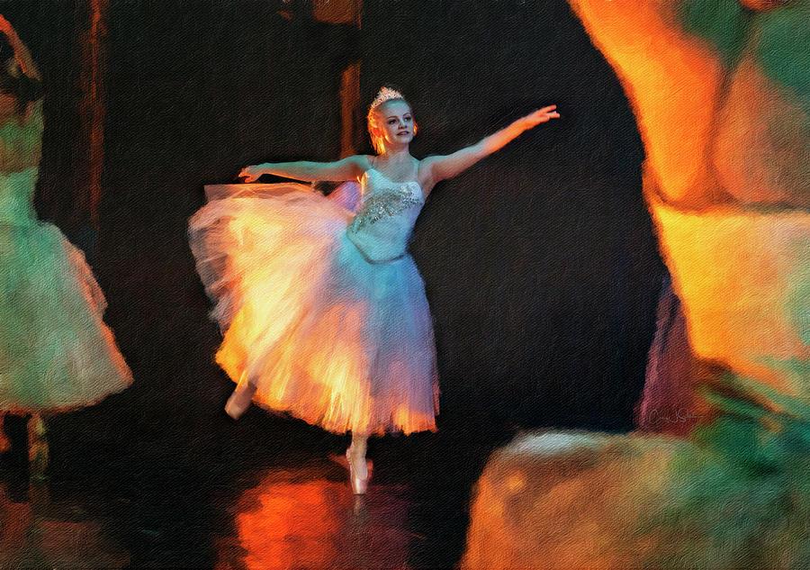 Tiny Snowflake Ballerina by Craig J Satterlee