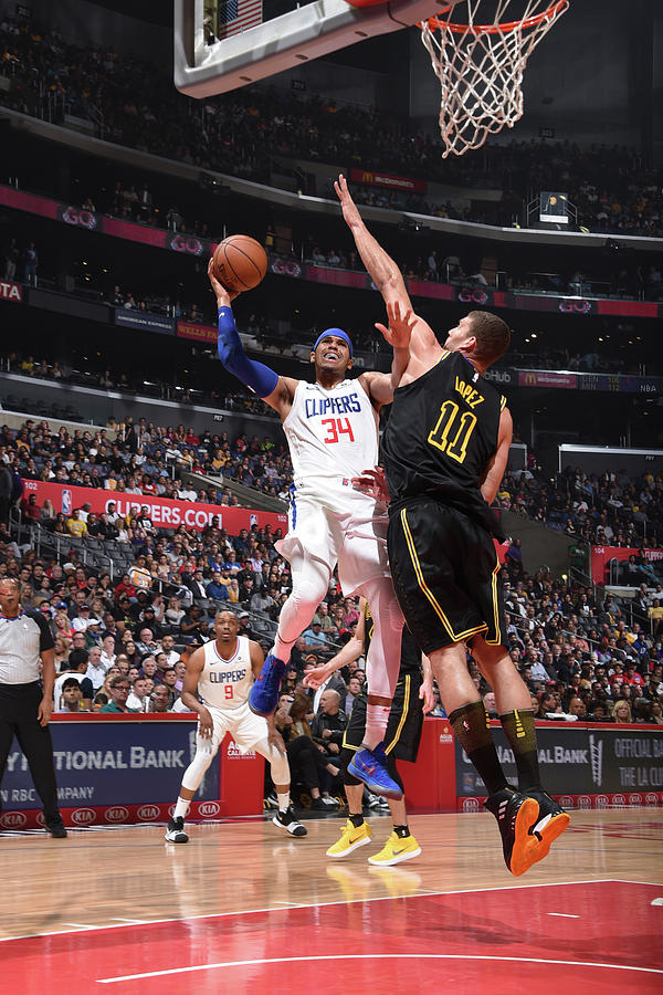 Tobias Harris Photograph by Adam Pantozzi