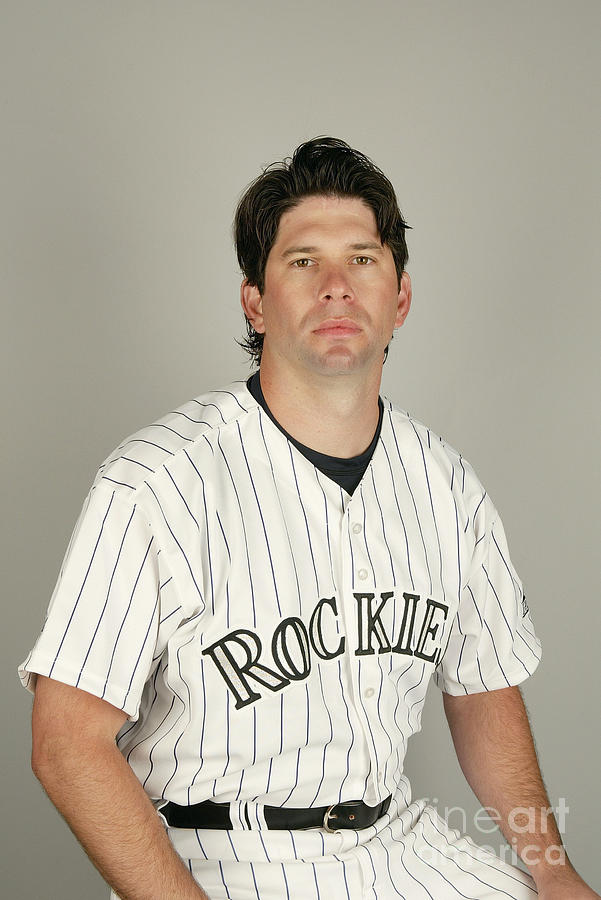 Todd Helton Photograph by Harry How