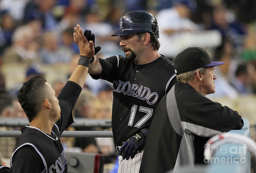Todd Helton Photograph by Jeff Gross