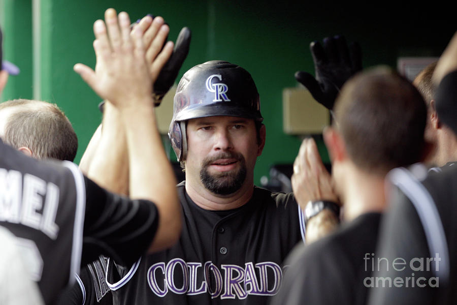 Todd Helton Photograph by Rob Carr