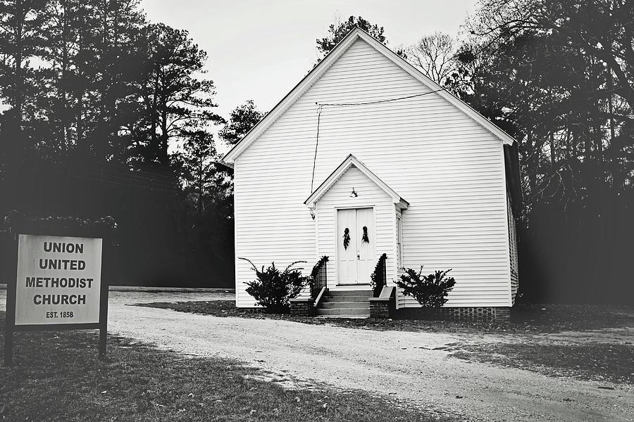 Alabama Photograph - Toddtown Church by Eric Overton