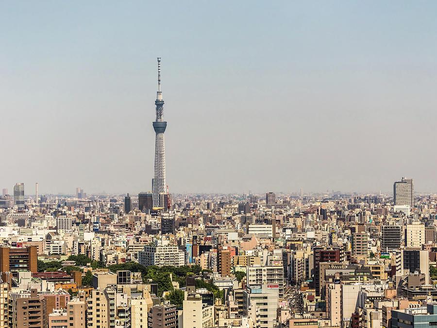 Tokyo Photograph - Tokyo 35 by Tom Uhlenberg