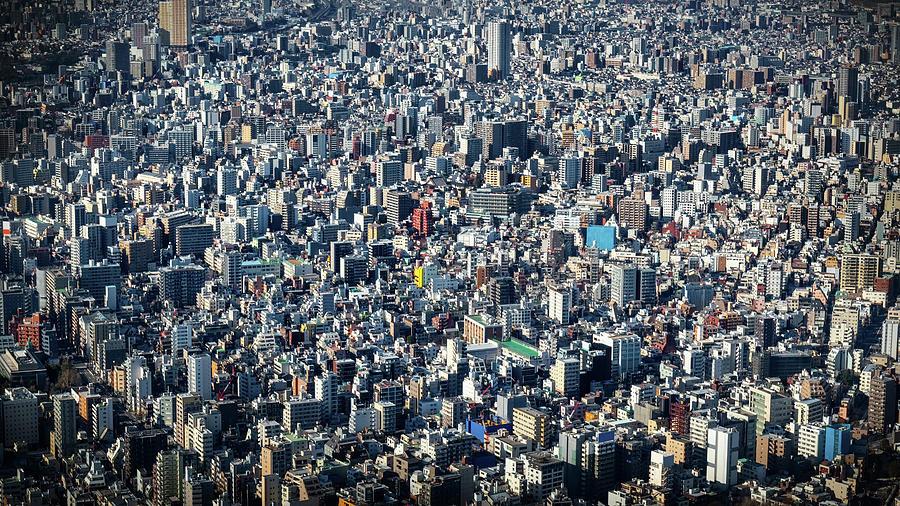Tokyo Aerial 1 by William Chizek